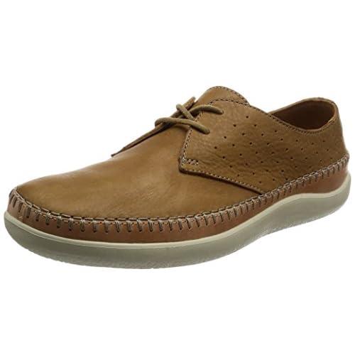 [クラークス] シューズ メンズ ビオフロー 26123879 Tan Leather タンレザー UK 9.5(27.5cm)