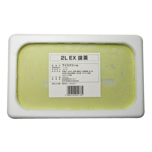 エクセレント 抹茶 2L 【冷凍】/森永乳業(3個)
