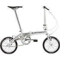 ハンドルバーに大きめのキズあり DAHON(ダホン) Dove Plus グリッター 2019年モデル ダヴプラス 14インチ 折りたたみ自転車