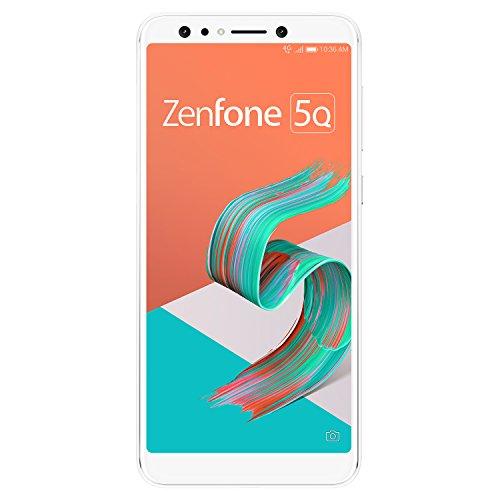 ASUS ZenFone 5Q 【日本正規代理店品】 6.0インチ/SIMフリースマートフォン/ムーンライトホワイト (4GB/64GB/3,300mAh) ZC600KL-WH64S4/A