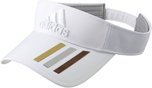 (アディダスゴルフ)adidas Golf ワールドゲームバイザー CCH65 AF8311:ホワイト ホワイト Free