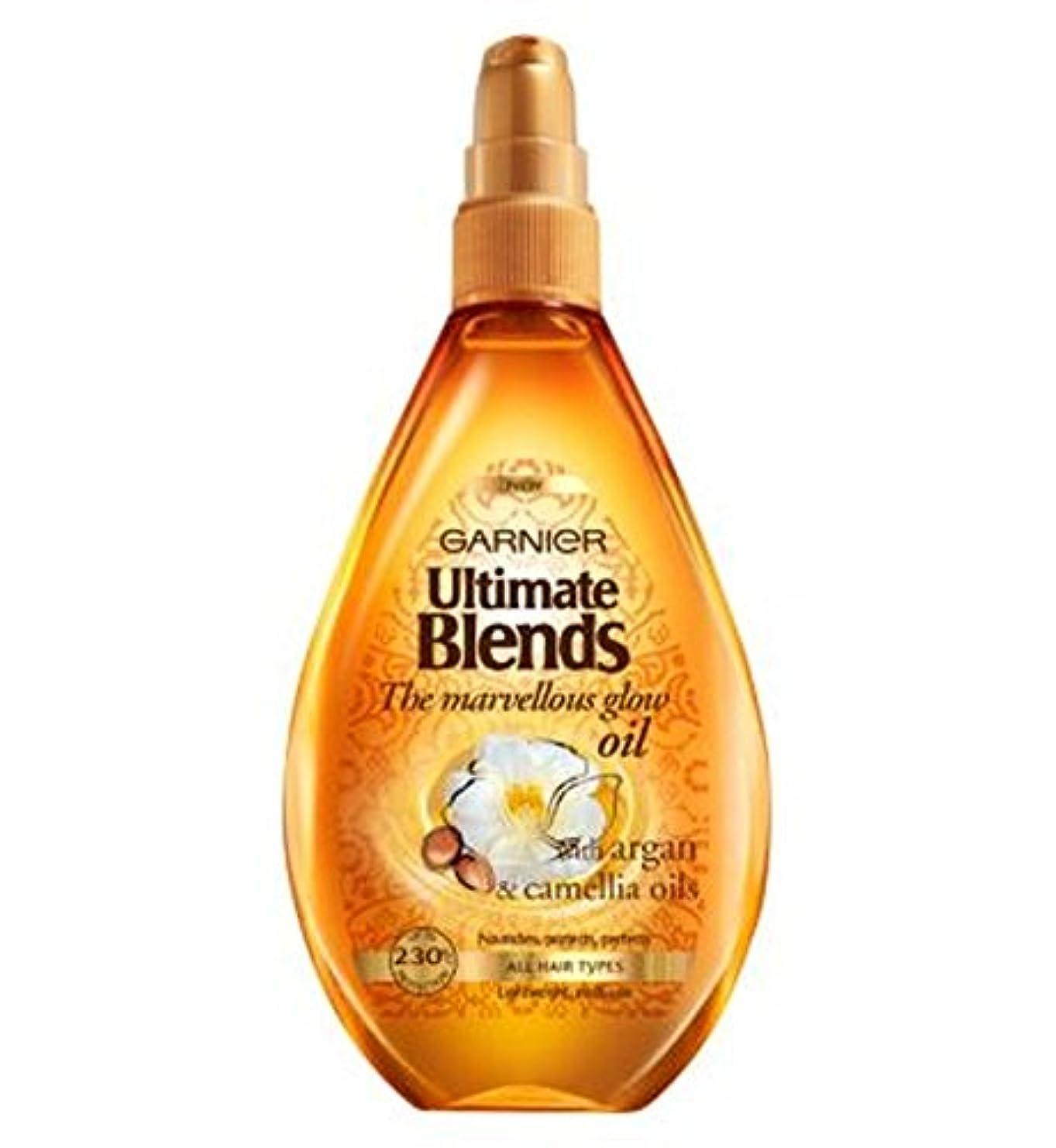 六分儀異常送るガルニエ究極は素晴らしいグローオイル150ミリリットルをブレンド (Garnier) (x2) - Garnier Ultimate Blends Marvellous Glow Oil 150ml (Pack of 2) [並行輸入品]