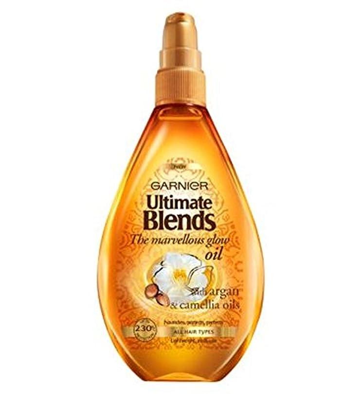 肉不変委託ガルニエ究極は素晴らしいグローオイル150ミリリットルをブレンド (Garnier) (x2) - Garnier Ultimate Blends Marvellous Glow Oil 150ml (Pack of 2...