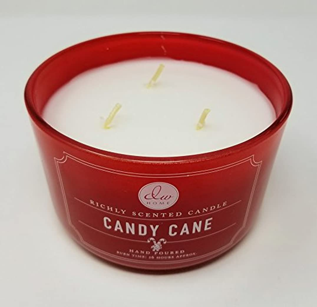 敗北海港のぞき穴DWホーム豊かな香りCandle – 3 Wick Candy Cane – 14.535 Oz