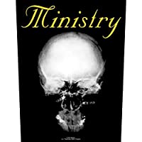 MINISTRY ミニストリー - The Mind Is A Terrible Thing To Taste/Backpatch/ワッペン 【公式/オフィシャル】