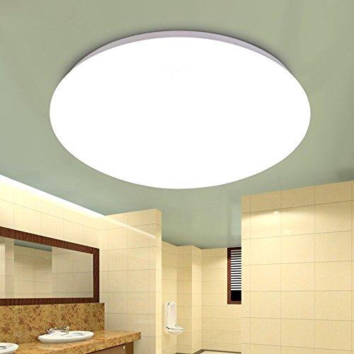 ZEEFO LED シーリングライト 小型 照明器具 おしゃれ 天井6畳 15W 1500lm 洗面所 台所 廊下 階段用 PSE認証済み 昼光色