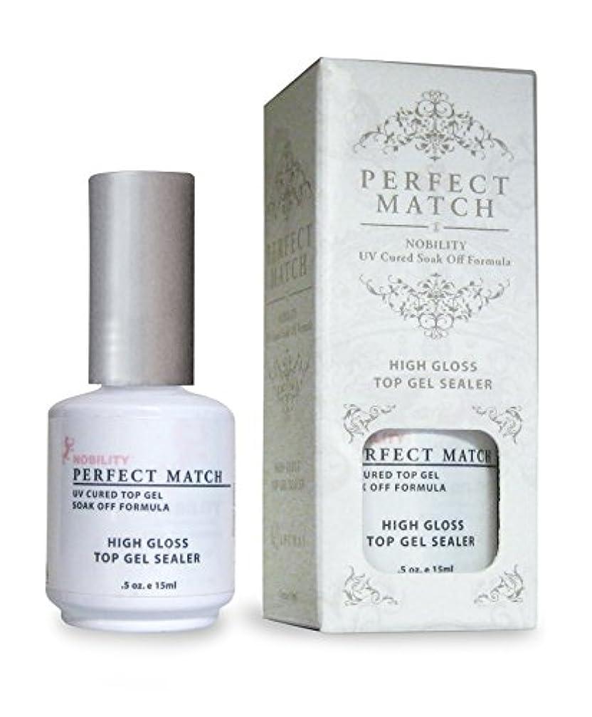 芸術的リンケージバクテリアLECHAT Perfect Match High Gloss Top Sealer, 0.5 Ounce