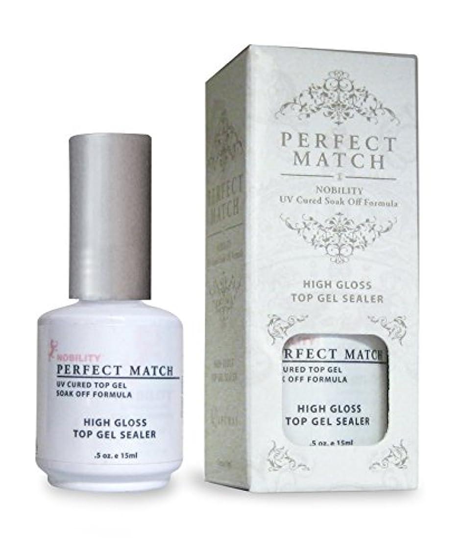 適用済み無限魔術LECHAT Perfect Match High Gloss Top Sealer, 0.5 Ounce
