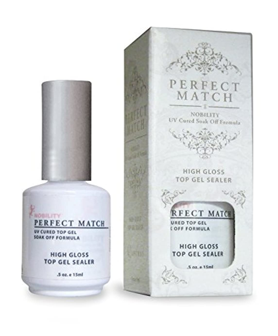 LECHAT Perfect Match High Gloss Top Sealer, 0.5 Ounce