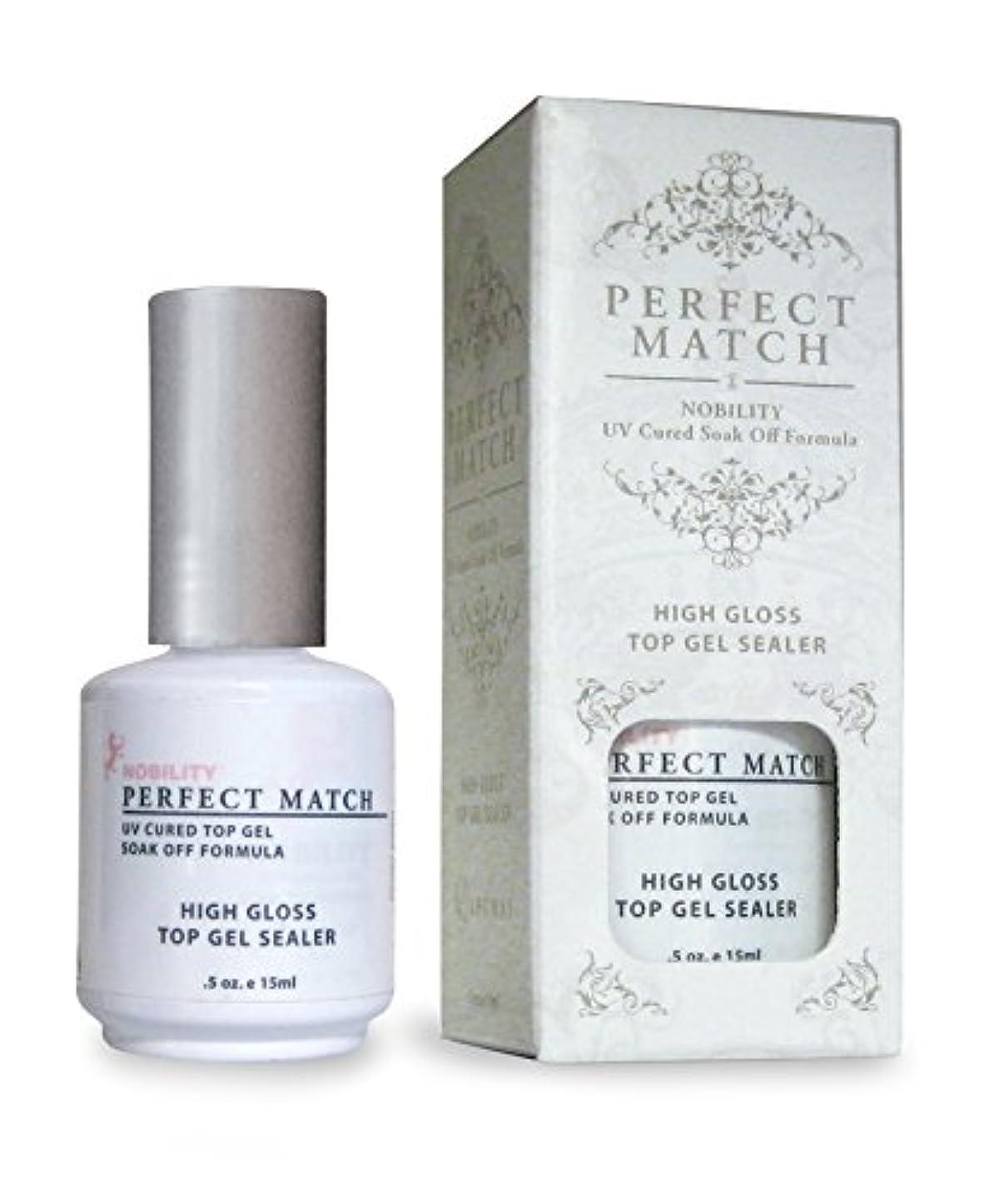 一瞬飛び込む適用済みLECHAT Perfect Match High Gloss Top Sealer, 0.5 Ounce