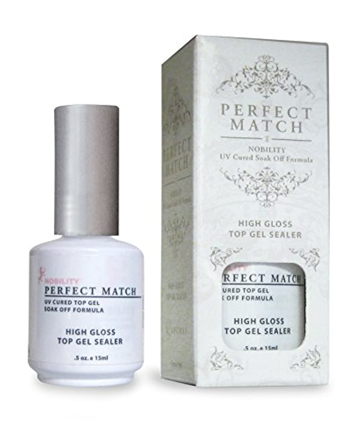落ち着いて抜粋ビートLECHAT Perfect Match High Gloss Top Sealer, 0.5 Ounce