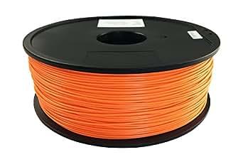 Qidiテクノロジーオレンジ1.75ミリメートルPLA材料