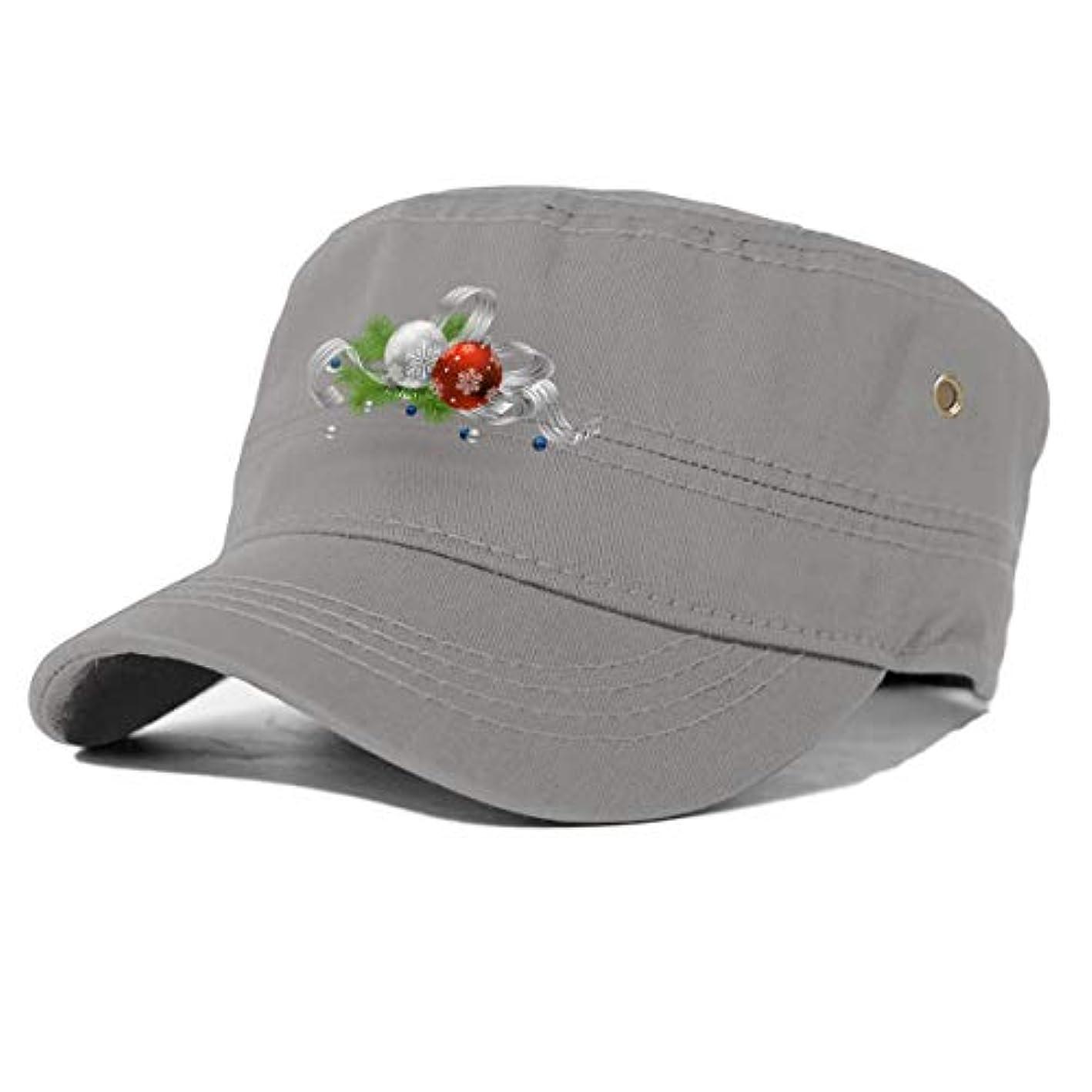 カウンタクッションホスト大人のフラットキャップ帽子曲げる綿男女通用 Essential Oil Christmas Tree Black