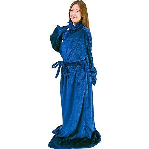 着る毛布 保温 洗える 静電気防止 とろける肌触り Mサイズ...