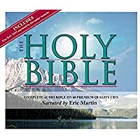 2 Complete King James Version Audio Bibles in one Product! -60 CD Discs Narrated by Eric Martin and 2 MP3CDs narrated by Alexander Scourby.All 66 Complete Old and New Testaments on 60 CDs [並行輸入品]