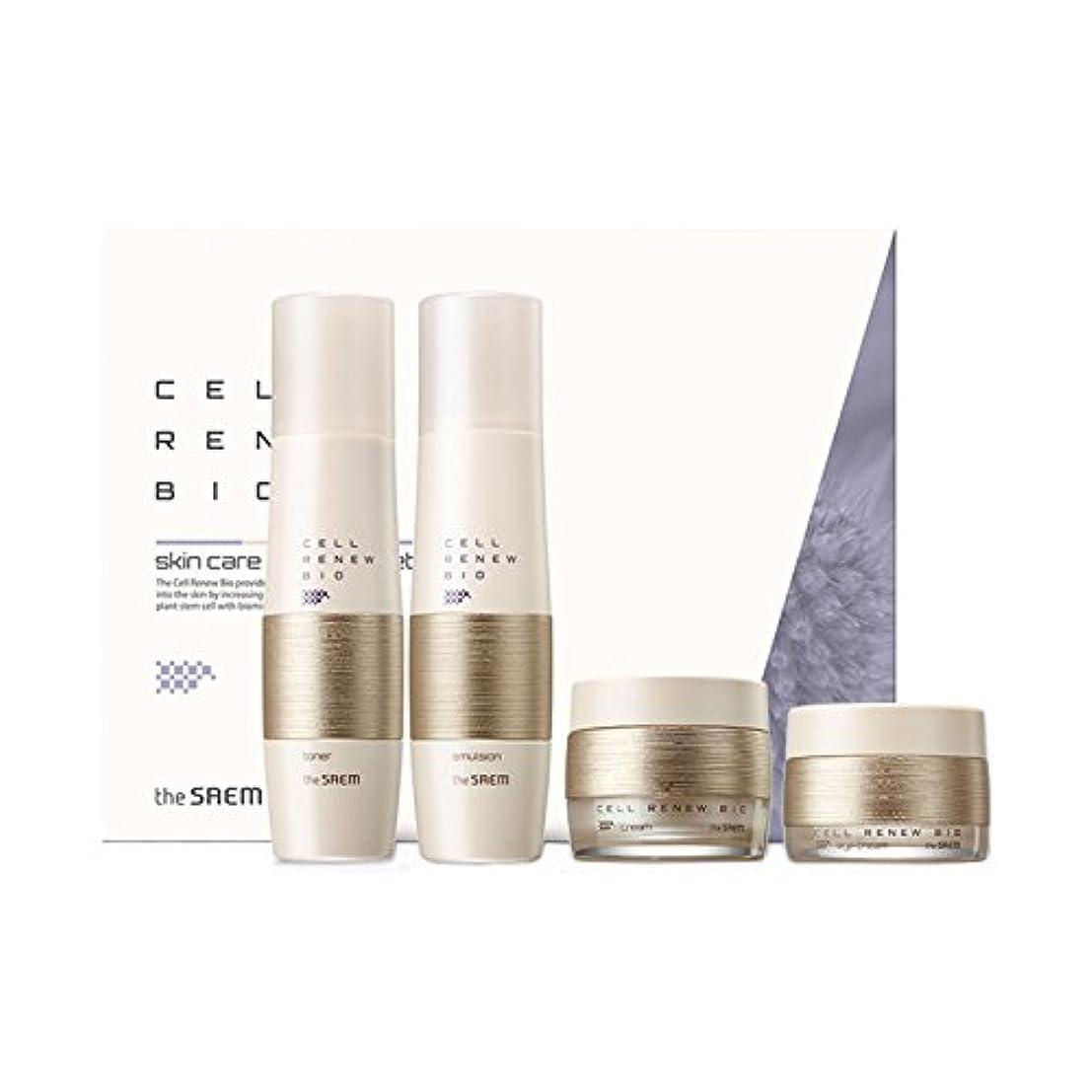 配管権限切る[ザセム] The Saem セルリニュー バイオ スキンケア スペシャル 3点 セット Cell Renew Bio Skin Care Special 3 Set (海外直送品) [並行輸入品]
