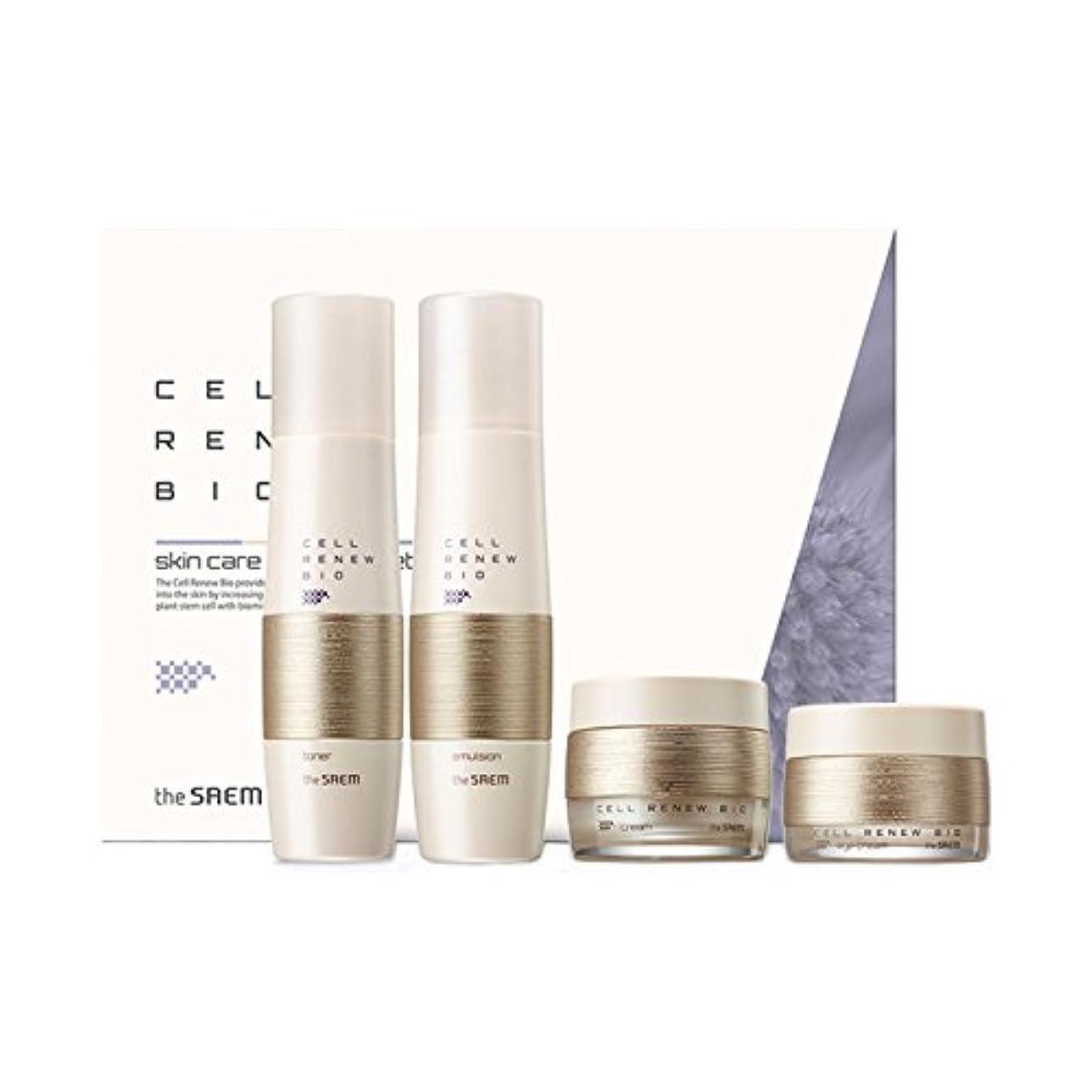 予防接種する頻繁にスーパーマーケット[ザセム] The Saem セルリニュー バイオ スキンケア スペシャル 3点 セット Cell Renew Bio Skin Care Special 3 Set (海外直送品) [並行輸入品]