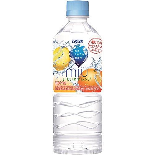 ミウ レモン&オレンジ 550ml ×24本