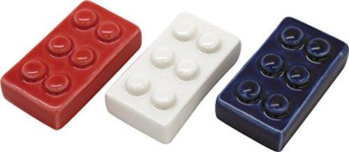 ブロック箸置き3個セット (レッド・ホワイト・ブルー) PN-2065-80