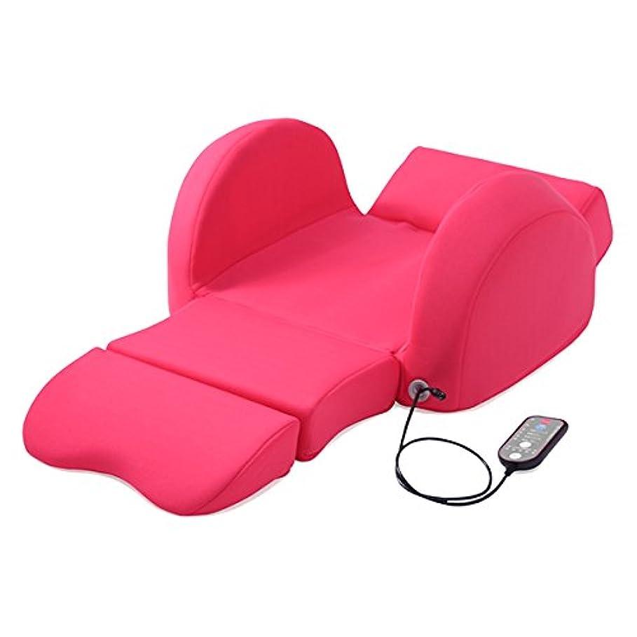スーツケース酸っぱい愛TBS公式 / 芦屋美整体 骨盤スリム 3Dエアー( チェリー ピンク )/ ウエスト から 太もも まで スッキリ ケア できる 腰 マッサージ エアバッグ 1年保証