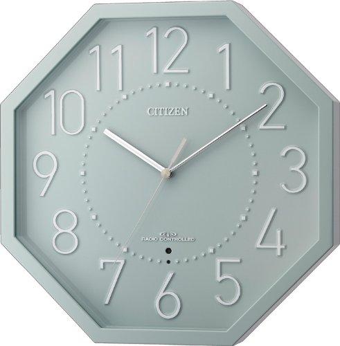 CITIZEN インテリアモダン電波掛時計 シンプルモードオクト 8MY477-005 8MY477-005