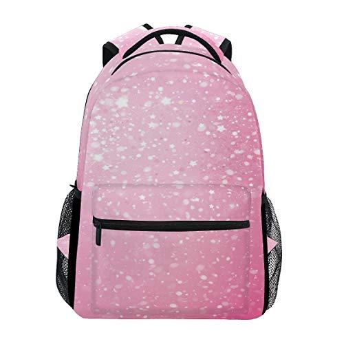女性用ピンクウィッグ トレッキングバックパック ファッション...