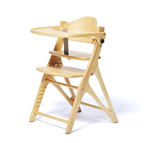 大和屋 アッフル ピュアナチュラル A01 赤ちゃんから大人まで使えるベビーチェア