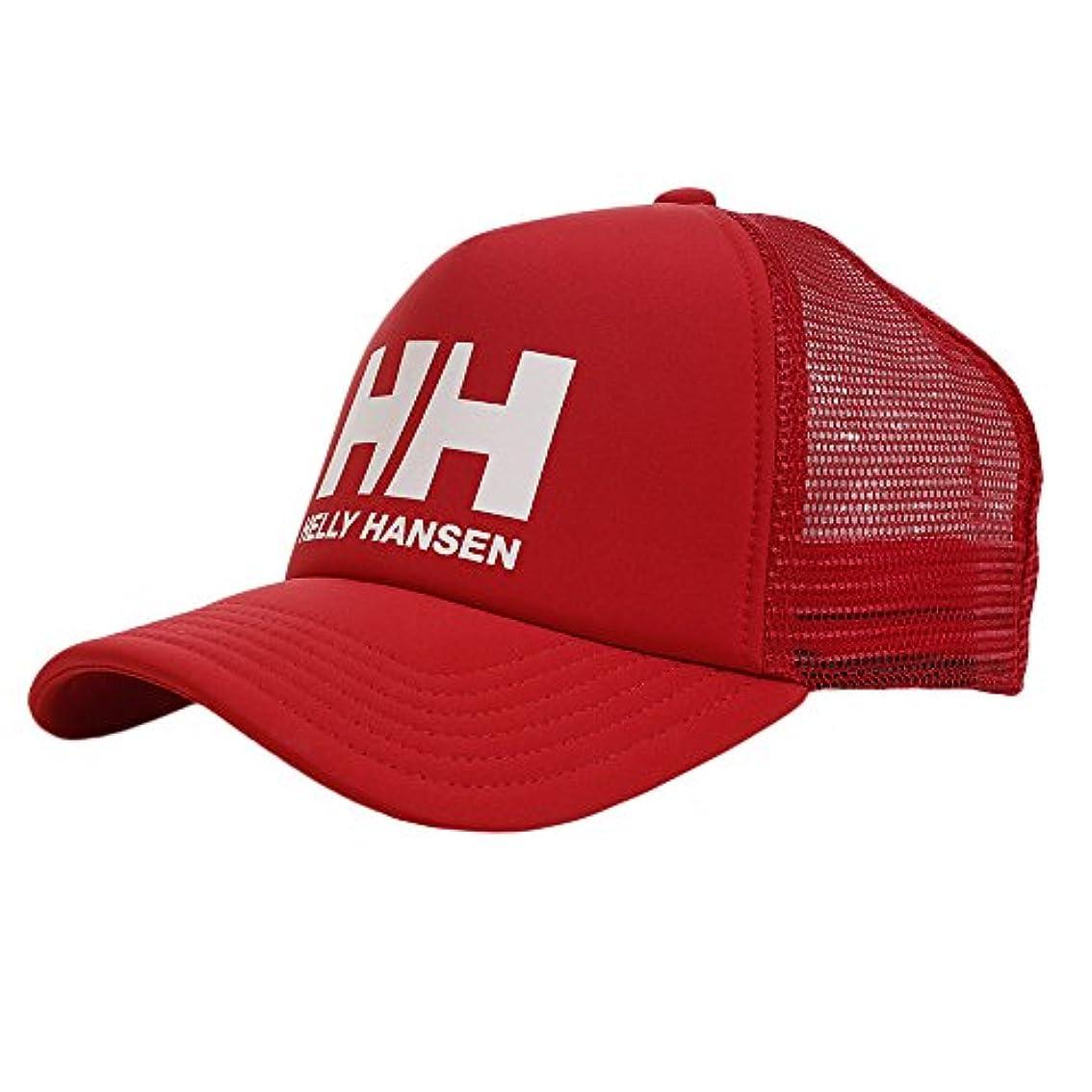 練習した知っているに立ち寄る挨拶するHELLY HANSEN(ヘリーハンセン) ロゴメッシュキャップ ユニセックス 男女兼用 Logo Mesh Cap