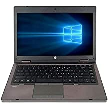 "HP ProBook 6460b 14"" i5 2520M 4GB 500GB HDD LED-Backlit HD Win10 Professional Webcam + AC Adapter (Renewed)"