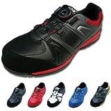 [イグニオ] ダイヤル式 安全靴 レディース対応 IGS1027TGF 女性サイズ対応 アルペン セーフティシューズ