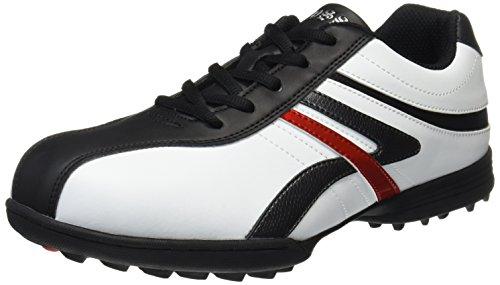 WOSS(ウォズ) スパイクレスゴルフシューズ WSK-1100  WSK-1100 ホワイト/ブラック 26.0cm