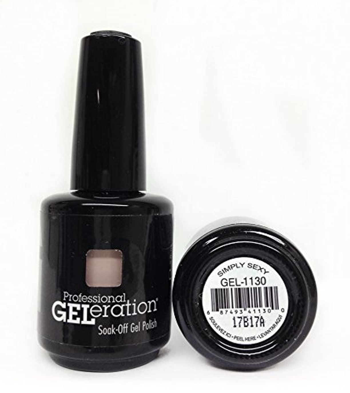 一回理解木Jessica GELeration Gel Polish - 2017 Silhouette Collection - Simply Sexy - 15ml / 0.5oz