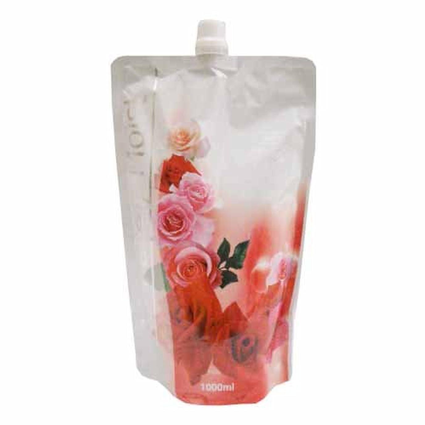 美容師甘い実質的コーナンオリジナル Purely Moist ボディソープ ブルガリアンローズの香り つめかえ用 1000ml