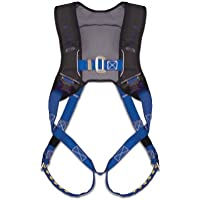 Guardian Fall Protection 181130 Basic HUV Premium Edge Series Harness with Pass-Thru Chest Buckles and Leg Tongue Buckles, Blue/Black, Small by Guardian Fall Protection