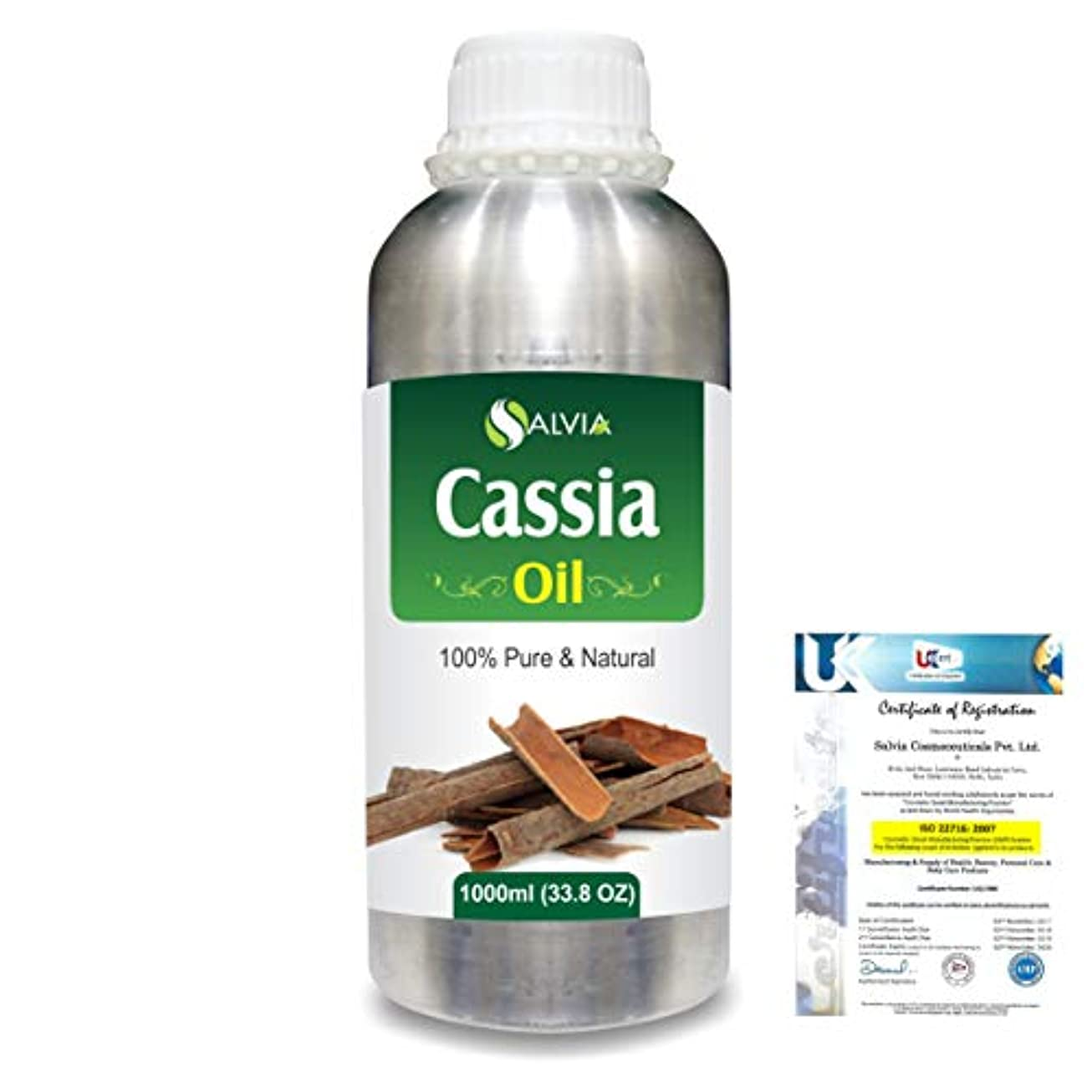 修理工まだら教えCassia (Cassia fistula) 100% Natural Pure Essential Oil 1000ml/33.8fl.oz.