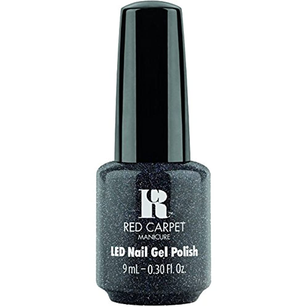 神経衰弱霧炭水化物Red Carpet Manicure - LED Nail Gel Polish - Star Gazer - 0.3oz / 9ml