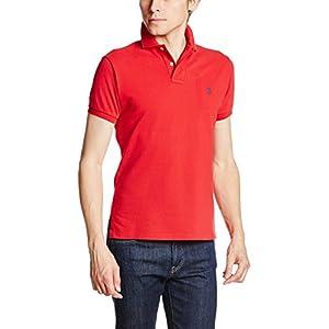 (ポロラルフローレン)POLO RALPH LAUREN(ポロラルフローレン) ポロシャツ 半袖 【並行輸入品】 MNBLKNIM1P10050 D71 RED (D71) XS