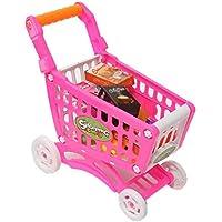 ミニショッピングカート 雑貨 フル 食料品 子供用 おもちゃ