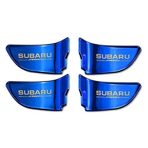 【SW】 メタリックな輝き SUBARU スバル インドア インナー ドア プレート フォレスター XV インプレッサ WRX STI レヴォーグ アウトバック エクシーガ S4 メタリック ブルー 青
