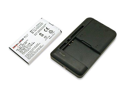 USB マルチ充電器 と SoftBank Pocket WiFi 303ZT/Y!mobile 305ZT モバイルルーター の ZEBAU1 互換 バッテリー 実容量高ロワジャパンPSEマーク付