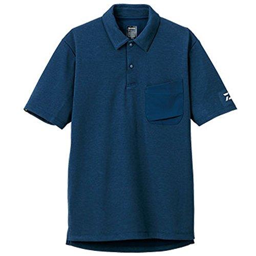 ダイワ BUG BLOCKER 防蚊ポロシャツ DE-5006 ネイビー M