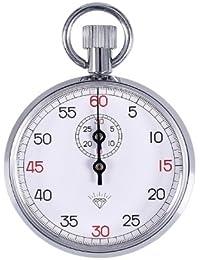 【tshop】 手巻き アナログ式 ストップウォッチ 最小目盛(秒):1/10 タイミングレース タイムウォッチ 【アンティークでお洒落なストップウォッチ】 M-505