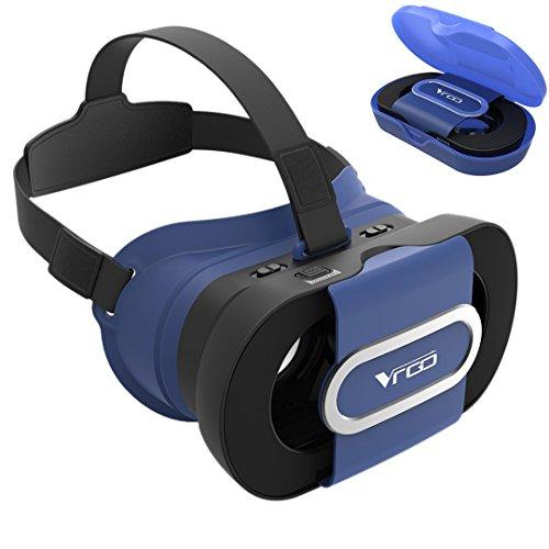 [해외]VR 고글 MaxKu 2016 최신형 VR BOX 접는 데 사인 96 ° 광각 3DVR 안경 초경량 산열 가공 3D 안경 슈퍼 3D 영상 효과 헤드 마운트 용 스마트 폰 고글 AQUOS R SHV39 | Galaxy Feel SC-04J | HTC U11 HTV33 | TORQUE G03 KYV41 | VAIO Phone /VR gogg...