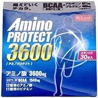 エムズワン アミノプロテクト レモンフレーバー 顆粒 スティック (4.5g×30本入) アミノ酸3600mg BCAA1540mg