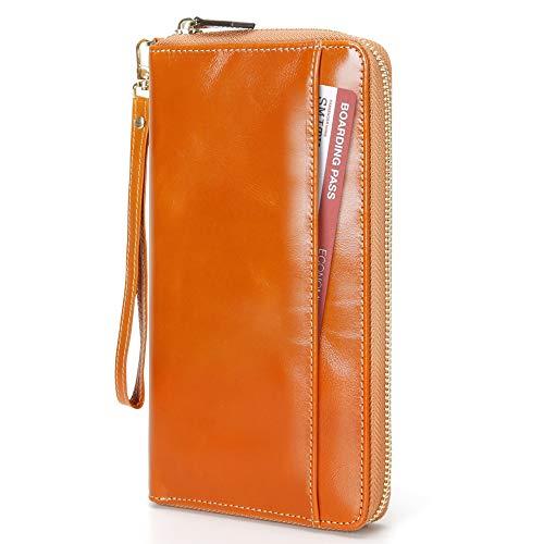パスポートケース カードケース 大容量 本革製 RFIDスキミング防止 7カード入れ ペンホルダー*1 海外旅行/出張/ビジネスなどに適用 母の日 プレゼント