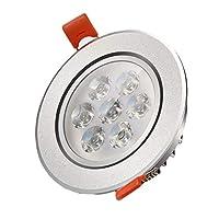 wu オープンホール 9cm リビングルーム ダウンライト LED 天井ライト 埋め込みパネルライト 通路 廊下ランプ 5W ceiling light