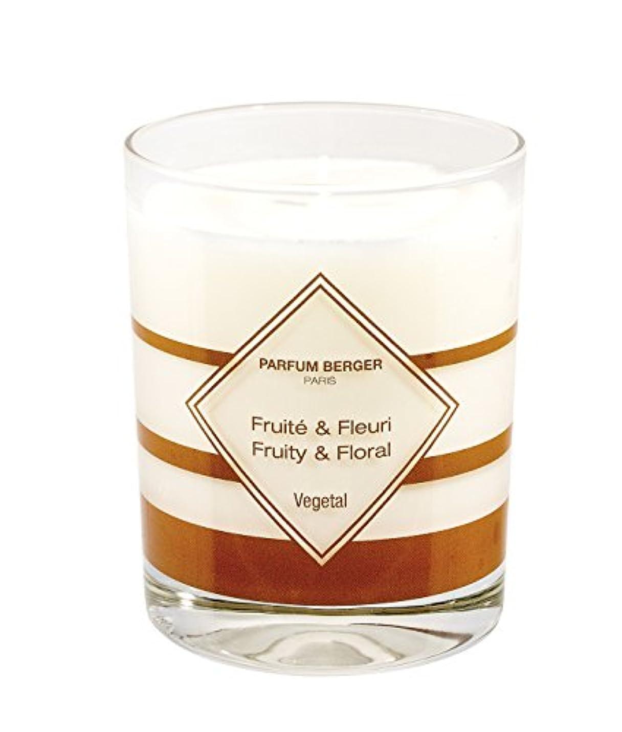 サミュエル農学取り扱いParfum Berger/Lampe BergerアンチペットOdor Scented Candle – ガラス – ホワイト、10 x 10 x 10 cm