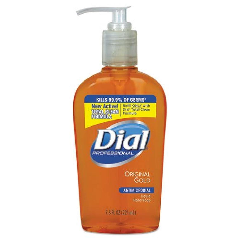 偉業チャンピオンシップ十分にダイヤルProfessional 84014 CT抗菌Liquid Soap、ポンプ、7 – 1 / 2オンス、12 / CT、Origゴールド