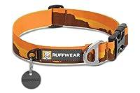 RUFFWEAR(ラフウェア) フーピーカラー・犬用首輪 - モニュメントバレー • M (36〜51cm & 幅25mm)