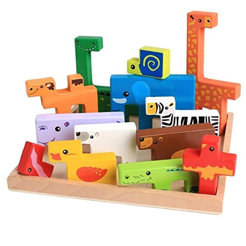 Enzoクリエイティブ木製パズル 子供用 M